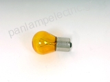Automotive lamp  12V 21W BA15S YELLOW