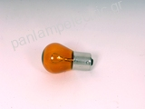 Automotive lamp  12V 21W BA15S AMBER