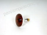 Infrared heating lamp E27 230V 250W RED