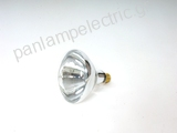 Infrared heating lamp E27 230V 250W CLEAR