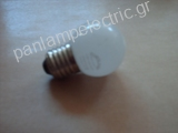 Lamp EUROLAMP LED 0,9W E27 mini globe blue