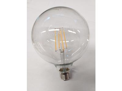 Λάμπα LED τύπου νήματος G125 6W E27 [LED lamp filament type G125 6W E27]