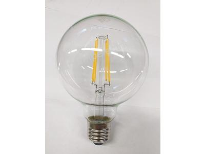 Λάμπα LED τύπου νήματος G95 6W E27 [LED lamp filament type G95 6W E27]