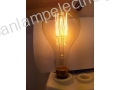 Decorative lamp EDISON type 220-240V 60W E27 A110